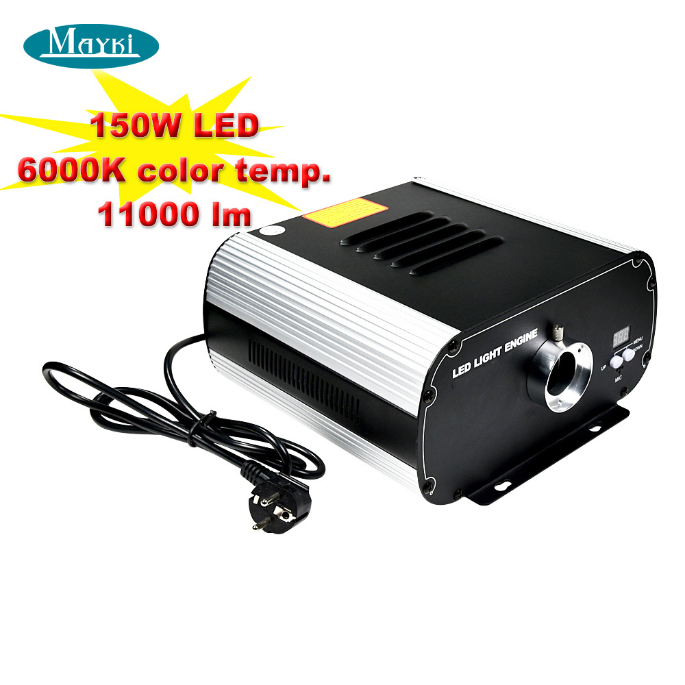 New arrival 150W white LED fiber optic projector device